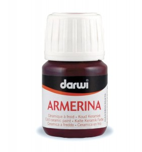 Farba do Ceramiki 30 ml Bordowa