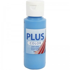 Farba PLUS Color 60 ml Błękit Oceanu